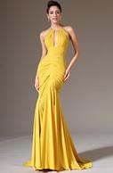 [USD 183.06] eDressit 2014 New Halter Yellow Sheath Formal Evening Dress (02142203) | edressit collection | Scoop.it