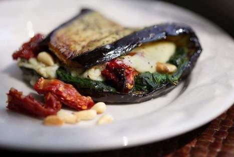Free Press Test Kitchen recipe: Eggplant Wraps | Healthy Eating - Recipes, Food News | Scoop.it