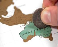 Scratch-Off Map Showcases World Travels [Pics] - PSFK | Idées d'ailleurs | Scoop.it