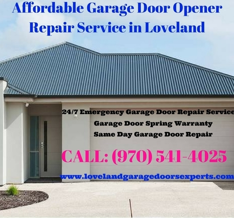 Affordable Garage Door Service Loveland Garage Door