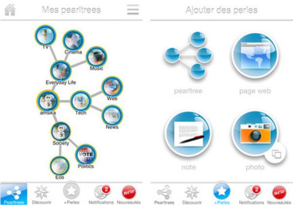 Le service de curation français Pearltrees débarque sur iPhone | Curation, Veille et Outils | Scoop.it
