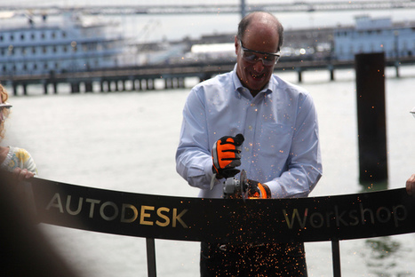 Autodesk's CEO on how connectivity is changing design & the ... | Open Design | Scoop.it
