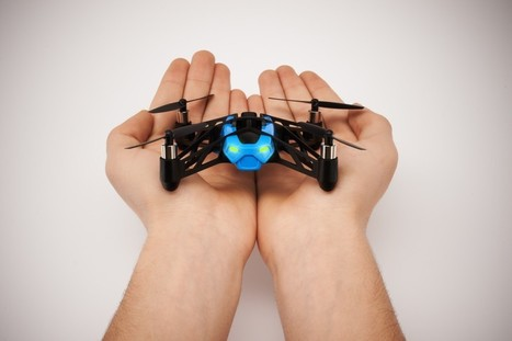 Coming soon: Parrot MiniDrone, fly and roll from floor to ceiling! | ROBOKIDS | Scoop.it