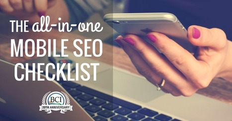 All-In-One Mobile SEO & Design Checklist | Product Management Technology | Scoop.it