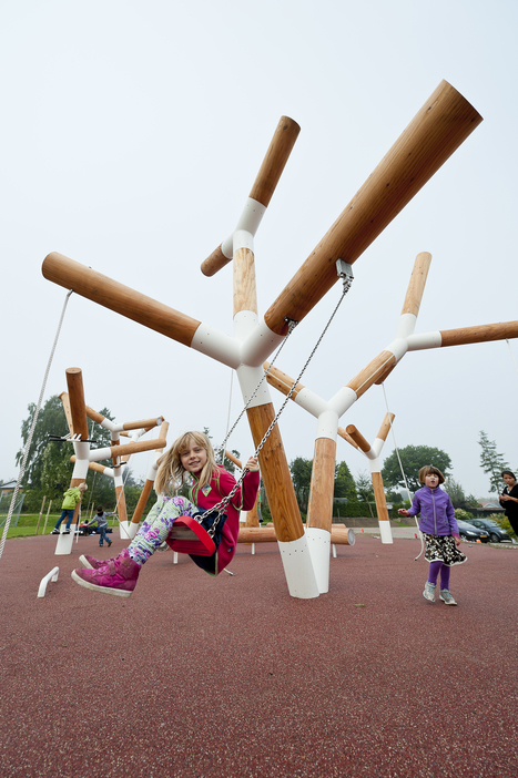 State of Play: How Architects and Designers are Rethinking America's Playgrounds   Boxkarts   Scoop.it
