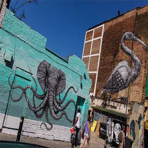 Alexis Diaz's Elephant-Octopus Mural Featured In London | Tech Nontech Magazine | Scoop.it