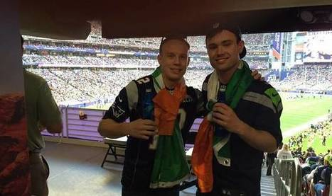 'Our game-plan was to be super confident' - Irish pair blag their way into Super Bowl and... - | Diverse Eireann- Sports culture and travel | Scoop.it