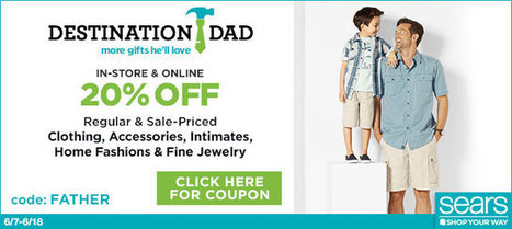 Father's Day Coupons June 2015, Up to 80% Off Deals, 25 Promos available | Help Me Find Coupons | Scoop.it