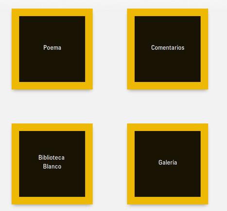 Aplicaciones para la Poesía Expandida: Blanco de Octavio Paz y otros | #CentroTransmediático en Ágoras Digitales | Scoop.it