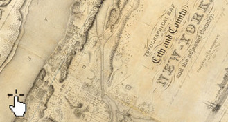 This Interactive Map Compares the New York City of 1836 to Today | CLIL-DNL History | Scoop.it