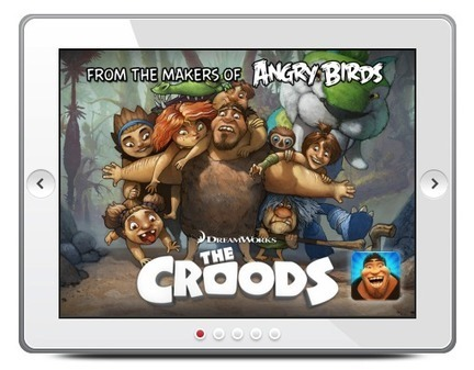 Rovio hooks up with DreamWorks to launch a new iOS and Android game, 'The Croods', on March 14 | Games World | Scoop.it