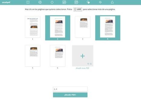 Convierte, comprime, une y divide tus PDF desde el navegador vía @eclapcyl  @computerhoy | Herramientas Web 2.0 para docentes | Scoop.it