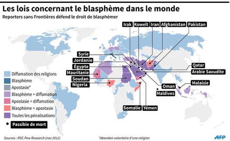 Petite géographie du blasphème | géographie des conflits | Scoop.it