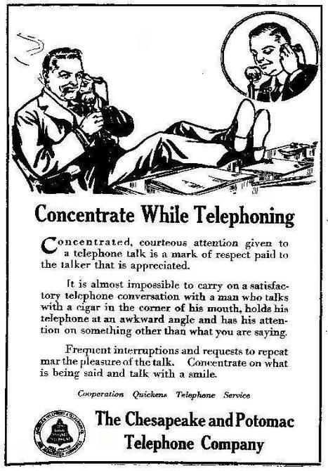 HOWTO use a phone (1917) | Onderwijs & ICT | Scoop.it