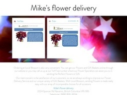 Mike's flower delivery | Mike's flower delivery | Scoop.it