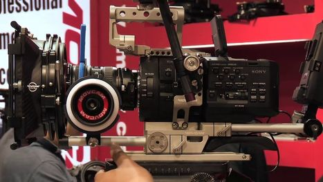 DSLR News Shooter | BIRTV 2012 – Movcam rigs for Sony FS700, Canon C300, KineRAW S35 and Red Epic | Movcam | Scoop.it