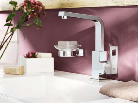 GROHE Eurocube - Without any rounded or cylindrical element   Designer And Architect Alliances   Scoop.it