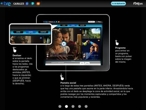 TVE lanza la primera app para capturar vídeos y compartirlos en redes sociales | Radio 2.0 (Esp) | Scoop.it