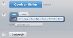 3 outils en ligne pour convertir les formats de fichiers   Web Design - Conception de sites web   Scoop.it