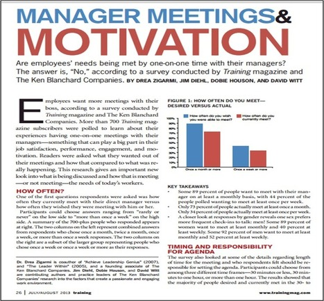 New Survey Data Shows Managers Not Meeting Employee Expectations in Three Key Areas | Strategy Matrix | Scoop.it