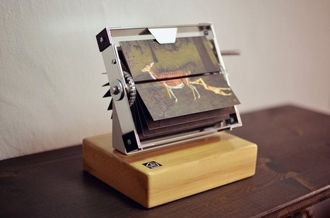 A 120-Year-Old Animation Machine That Can Play Your Favorite GIFs | Machinimania | Scoop.it
