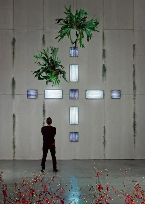 Beautiful Wall Lamps From Natural Silk - defuturedesign | News for Fashion | Scoop.it