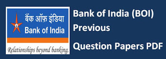 Bank of India Previous Question Papers PDF SO IT Accountant PO Clerk |Recruitment 2016 | Previous Question Papers PDF SSC CGL RRB | general information | Scoop.it