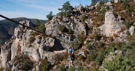 La Via-Ferrata en Aveyron ! | L'info tourisme en Aveyron | Scoop.it