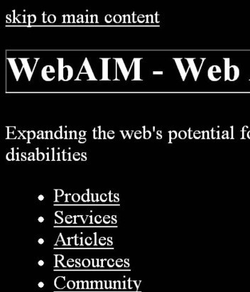 WebAIM: Creating Accessible CSS - Using CSS to Your Advantage | Accessibility Awareness and Online Learning | Scoop.it