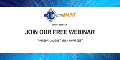 A new webinar about openMAINT and BIM! | CMDBuild | Scoop.it
