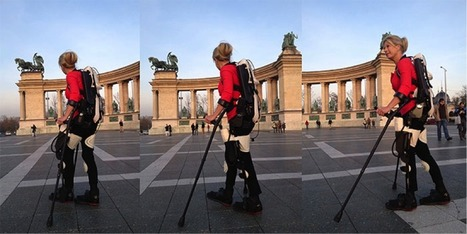 3D-printed exoskeleton helps paralyzed skier walk again | The Robot Times | Scoop.it