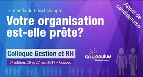 Colloque Gestion et RH | Colloquium | Ressources Humaines et emplois | Scoop.it