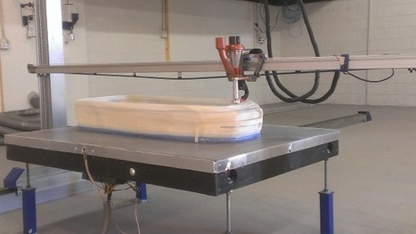 3ders.org - ErectorBot large scale 3D printer comes with first 'production level' granule-fed extruder | 3D Printer News & 3D Printing News | architecture | Scoop.it