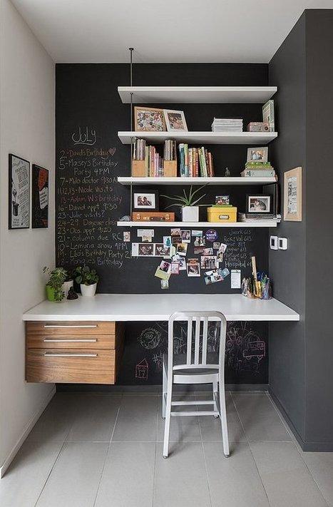 45 Inspirational Home Office Ideas | Art and Design | A savoir | Scoop.it