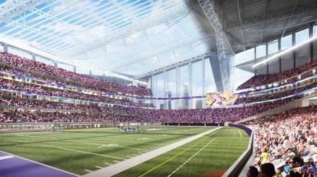 MN: Planned Vikings Stadium will have world's largest transparent roof | GizMag.com | Jordan's Scoop It! | Scoop.it