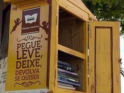 Pontos literários despertam hábito para leitura - Globo.com | Incentivo à Leitura em Bibliotecas Escolares | Scoop.it