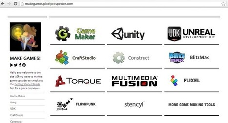 The Big List Of Game Making Tools « PixelProspector – the indie goldmine | filipante | Scoop.it