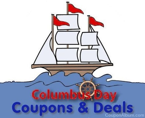 Top 15 Columbus Day Sales to Score! | Coupons & Deals | Scoop.it