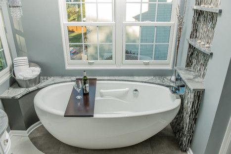 Refreshing The Bathroom In An Elegant And Inexpensive Way   Home Improvement   Scoop.it