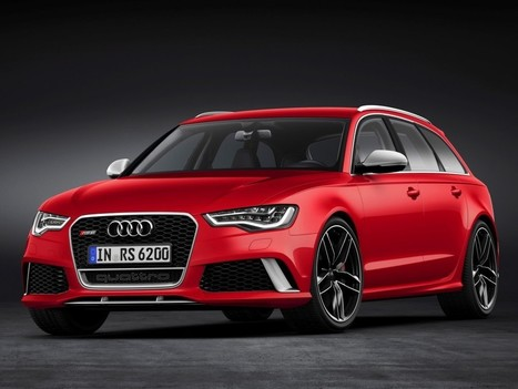 First Look Of 2014 Audi RS 6 Avant | Auto Guide India | Scoop.it
