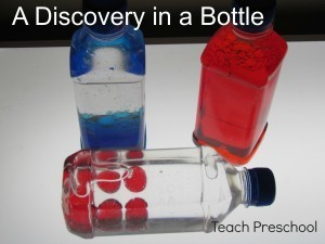 The discovery of color in a bottle | Teach Preschool | Scoop.it