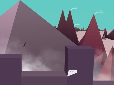 A gorgeous videogame where the levels are made from infographics | World of Games | Scoop.it