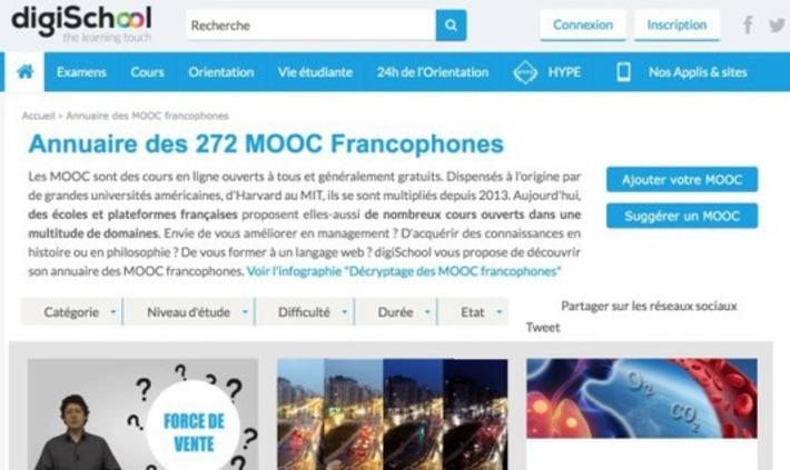 5 annuaires en ligne pour trouver des Mooc francophones – Les Outils Tice | TIC et TICE mais... en français | Scoop.it