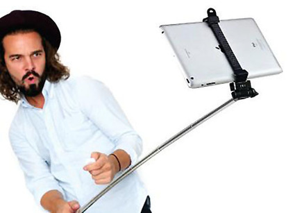 Heads Up: The Tablet Selfie Stick is Now a Thing | Brussels in photographs | Scoop.it