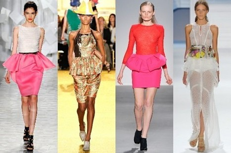 Spring 2012 fashion trends: Bright colors, structured silhouettes, and '50s ... - Blast | TAFT: Trends And Fashion Timeline | Scoop.it