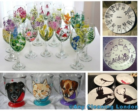 How to decorate your cups and plates | home | Scoop.it