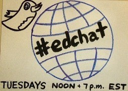 Display an #EdChat in your Faculty Lounge - Instructional Tech Talk | I'm Bringing Techy Back | Scoop.it