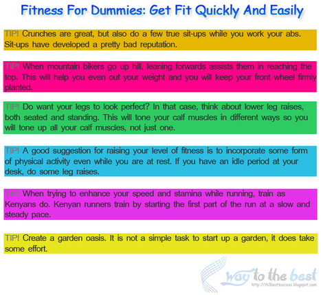 Fitness For Dummies | ayoubMk | Scoop.it