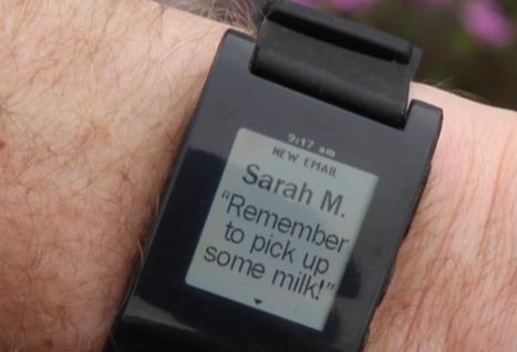Smartwatch: montre intelligente aux multiples fonctionnalités   appels à projet innovation sociale   Scoop.it