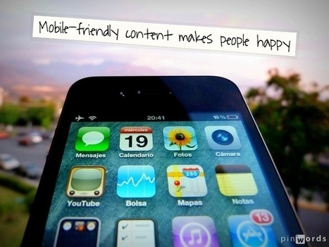 Want To Make Your Content Mobile-Friendly? Answer These 3 Questions - Business 2 Community | Mobile App Startups | Scoop.it